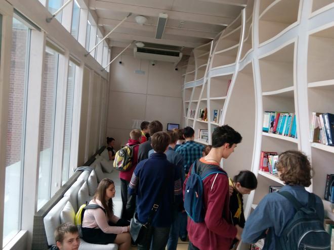 Экскурсия с учениками в Яндекс