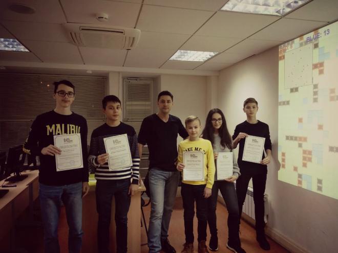 Завершение семестра в 1С:Клубе программистов