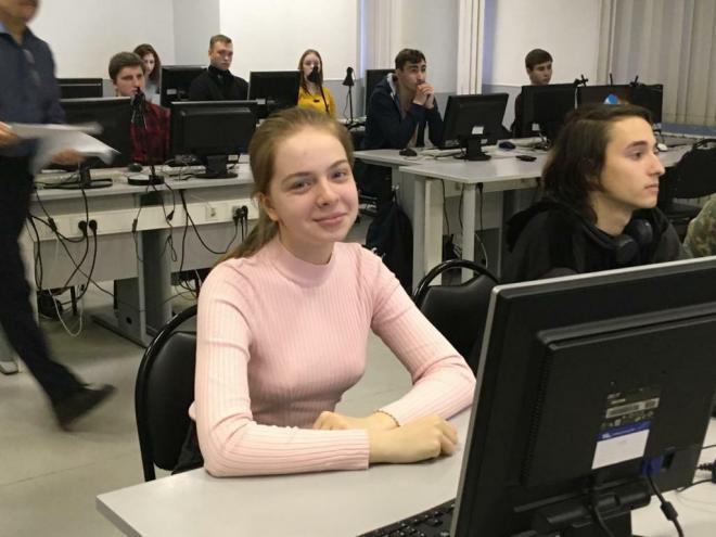 4 место среди студентов у моей ученицы