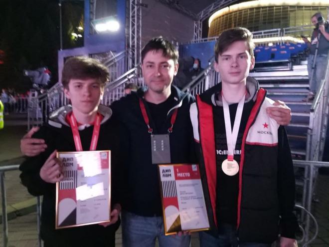 Двойная победа на Чемпионате России